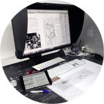 Verarbeitung und Vorbereitung des Drucks über moderne und leistungsstarke Plattenbelichter für den nachfolgenden Offsetdruck
