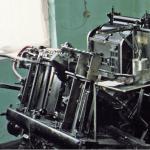 Offsetdruck mit einer Rotaprint RK 30